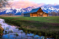 Moulton Barn on Mormon Row, Grand Teton National Park