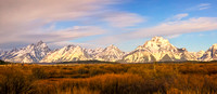 Grand Teton Range From Willow Flats
